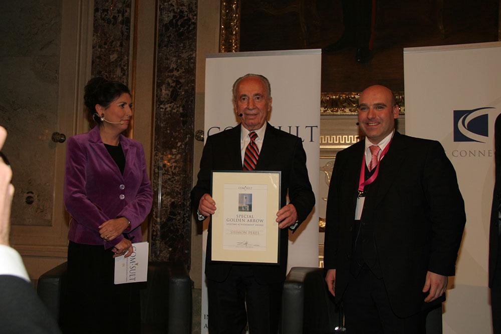 Golden Arrow 2006 - Shimon Peres