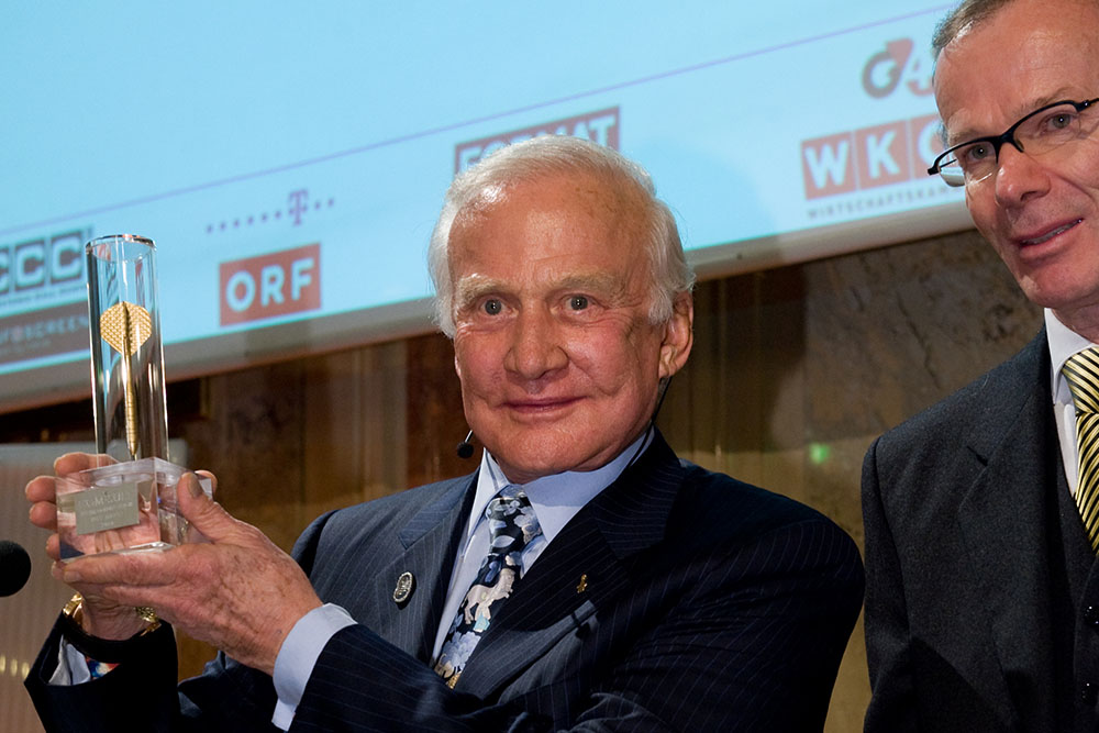 Golden Arrow 2010 - Buzz Aldrin
