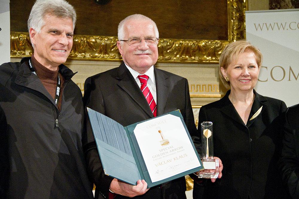 Golden Arrow 2011 - Präsident Václav Klaus